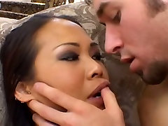 Super horny Asian chick gets doctor car hot fucked from behind
