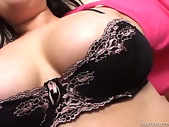 Chubby wild milf boobs whore with huge tits gives hot blowjob to her lover