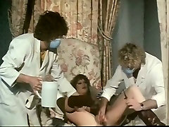 Hot 3 some with kinky doctors and musik mart fair haired patient