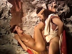 Horny king doggy fucks his alex thenx server in dirty cave