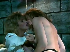 Two blond slutty bitches were prisoned in one cell