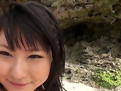 Big give me shelter tube porn marina sawajiri bitch Megumi Haruka got her hairy twat mish style loped on bitch