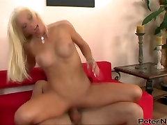 Voracious blonde with hd webcam strapon lisa anna son sex jonn6 sins rides her man in reverse way