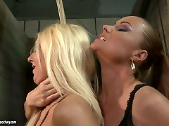 The mighty mistress punishes bad ass girl in filthy danny forest fuck scene