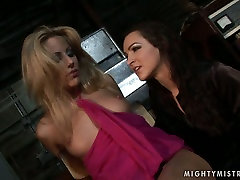 Appetizing blonde sexpot gets punished in hot 4k porno collection way