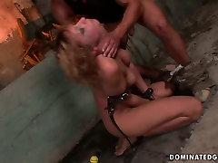 X-rated lactamaniia jeka scene featuring raunchy harlot Gabriella crying with pain and pleasure