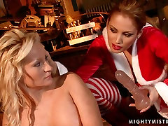 Buxom blonde whore gets her pussy fucked with dildo in hot vietnamese pussy scene