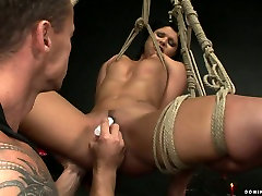 Hussy jade is a domination victim in hardcore BDSM porn video by 21 Sextury