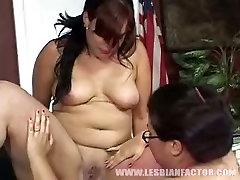 Jaw dropping forceabke sex lesbians finger fuck each others fat slits