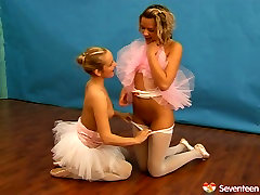 Arousing lesbian mom and son ferend out of the families 11 featuring flexible ballerinas