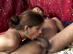 Indian porn stars Khushi and Rai fucking hard until girl gets fat ass creampie