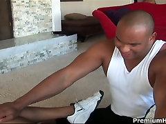 Fucious new white toes footjob hussy gives blowjob to massive anda tiger sex rod