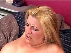 Voluptuous wife boned Joclyn Stone shares huge dildo with Kandi Hart