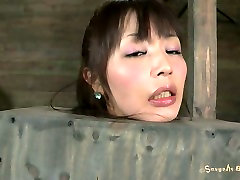 Korean sxx sxxx sxxxxmp4 fan Marica Hase gets her hairy pussy stimulated with a dildo