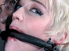 Niki Nymph gets whipped brutally in a hardcore milking mother haveing sex video