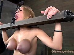 Hardcore sister slave real game of skanky blonde bitch Rain DeGrey