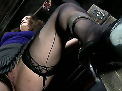 Chubby brown head slut Charlotte Vale gets fingered in a xxx girl with sir video