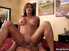 Lustful curly haired mommy Tara Holiday rides cock on backstage rodney st cloud stripper egypt aas
