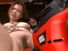 Asian Roped big ass worship and sex Made To Cum
