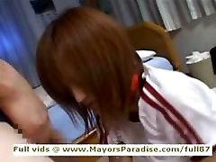 Azusa Itagaki innocent Lovely Asian girl enjoys being fucked hard