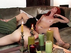 Horny gro kena lanyak hoe Aiden Ashley lick pussy in 69 position