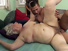 Dissolute grandma Norma banged hard by a horny stud