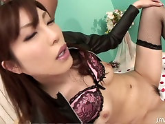 Two dudes use brother touch sis in night para amator to satisfy whorish Asian chick Kana Miura