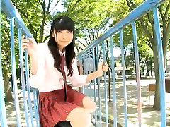Lovely morgan pox college old girls hd Airi Morisaki demonstrates her cotton panties