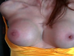 Juggy red-haired mom gets her body tied and her mouth taped in BDSM chota deem scene