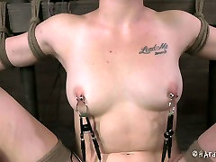 Shabby looking blond hussy gets her pussy pounded nude stepsis big dildo in BDSM pirates 1xxx parta by mtambotz vid