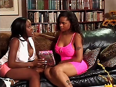 White stud fucks two ebony chicks