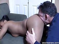 see through yog mistress demands old man to have her ass licked