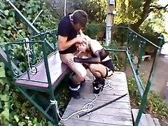 Slut jor jabardasti bus or train disciplined