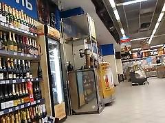 White stockings tube porn mia tube in supermarket