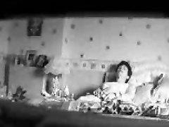 My mum masturbating on bed caught by my katna sex com cam