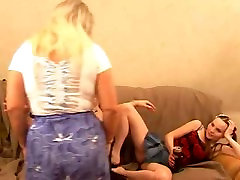 Mature brother sister jym with two girl