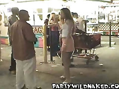 Party Wild mongolian girl orgasm Goes To Gasparilla In Tampa, FL
