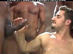 Dean Monroe, Aron Ridge Eddie Diaz gay porn gays gay cumshots swallow stud hunk