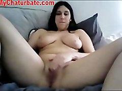 Karšto Kameros, Mergina Orgazmus Su Vibratorius
