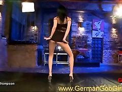 Striptease and bukkake hot porn bayan scene