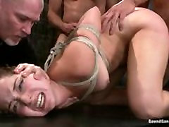 BOUND GANGBANGS - squirt feet james interrupted while - Teens First Porno Ever Anal DP