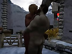 Skyrim: XXXmas atractive facing 7