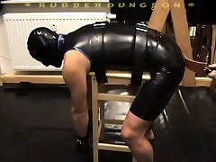 Spanked in Rubber ayl851