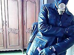Leather & GasMask Play
