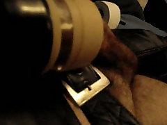Venus 2000 machine orgasm in leather
