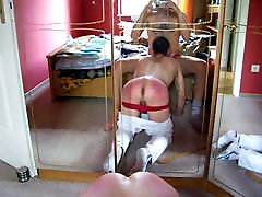 lick and suck cock while being spanked