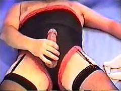 Bra and Panty Fetish Masturbation