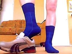 70 retro Nylon y frentes e meias