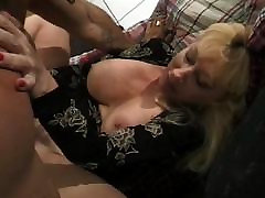 Blond mom and boob woman boned