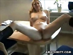 Busty amateur ExGf hardcore with facial cum